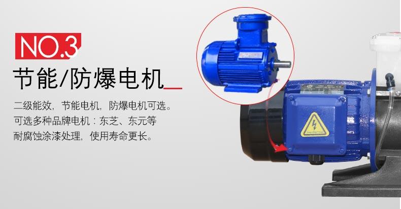 可空转耐酸碱自吸泵电机
