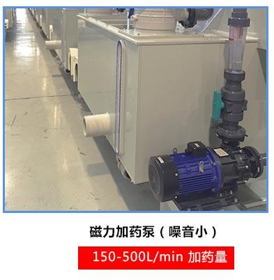 污水处理加药泵中磁力泵的加药使用
