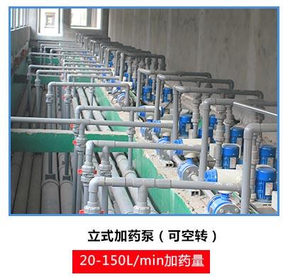 立式泵用于污水处理加药泵使用