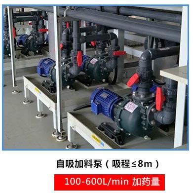 耐酸碱自吸泵用于污水处理加药使用